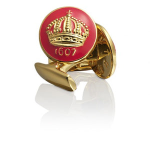 Cufflinks | Skultuna Crown | Gold Plated - STOCKHOLM