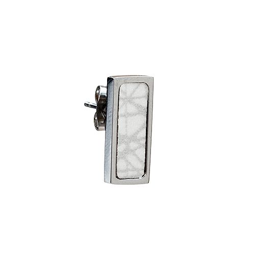 Virrvarr Rectangle small light Earring - Single