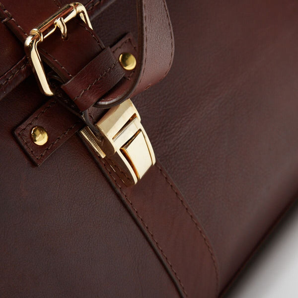 Satchel Bag | Rafaelo | Chestnut Leather - STOCKHOLM