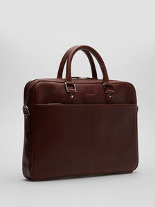 Laptop Bag | Bartolo | Chestnut Leather - STOCKHOLM