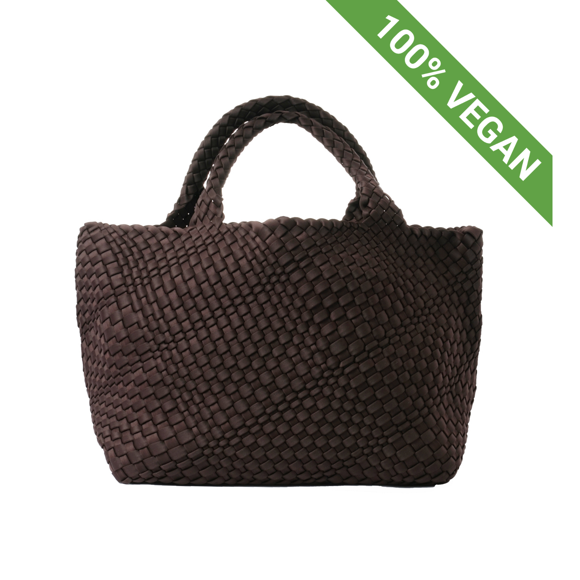Hand Braided Shopper | Brown | Vegan