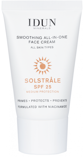 All-in-One Face Cream/Primer/Sunscreen | Solstråle| SPF 25 | Vegan