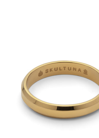 Ring | The Icon | Matte Gold - STOCKHOLM