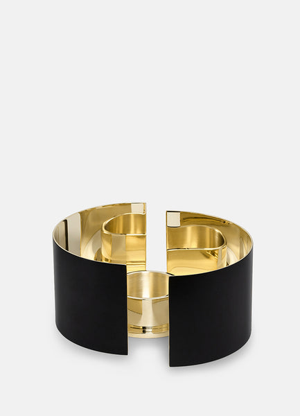 Candle Holder | Infinity | Black | Small - STOCKHOLM