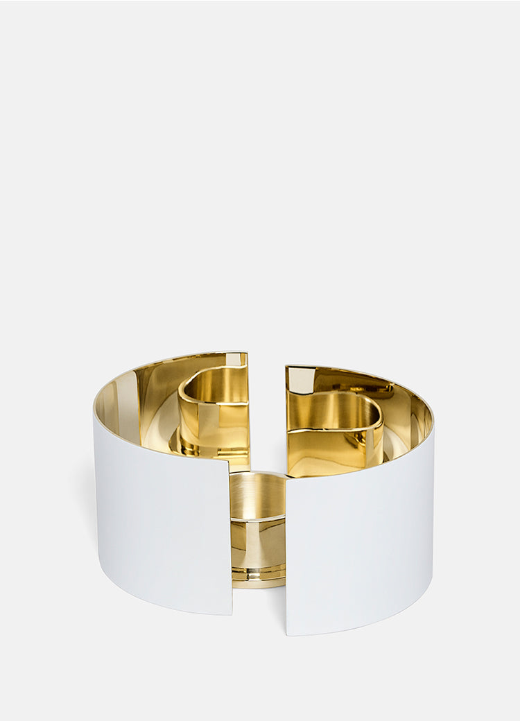 Candle Holder | Infinity | White | Small - STOCKHOLM