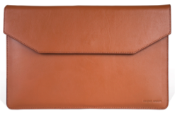 Macbook Sleeve | Tan | Calf Leather - STOCKHOLM