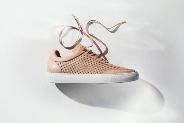 Sneakers | Breathable | Napa | Tan - STOCKHOLM