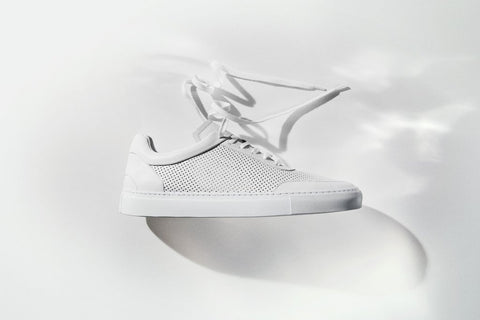 Sneakers | Breathable | Mesh | White - STOCKHOLM
