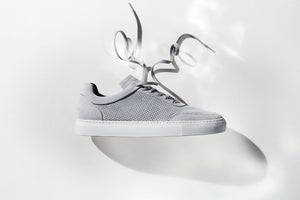 Sneakers | Breathable | Suede | Plaster Grey - STOCKHOLM