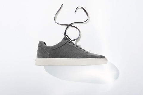 Sneakers | Suede | Graphite - STOCKHOLM