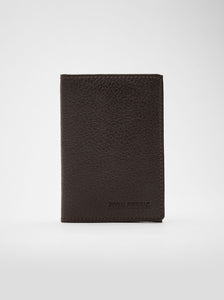 Cardholder | Oddo | Dark Brown Leather - STOCKHOLM