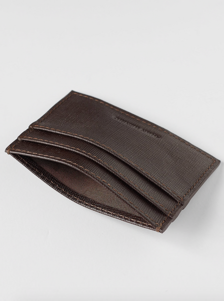 Cardholder | Ares | Brown Leather