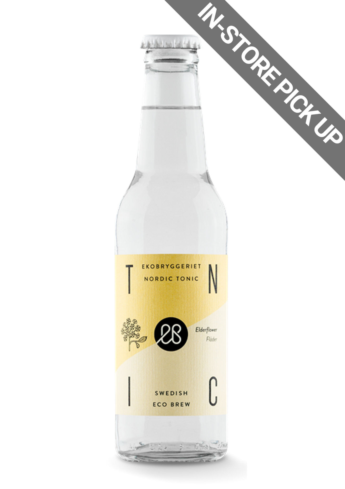 Organic Tonic Elderflower 200ml - STOCKHOLM