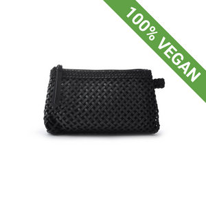 Cosmetic Bag | Vegan Leather | Sweet Black - STOCKHOLM