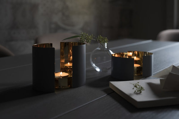 Candle Holder | Infinity | Dark Grey | Large - STOCKHOLM