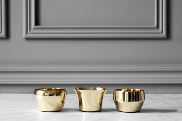 Candle Holder Kin | Set of 3 | Metal - STOCKHOLM