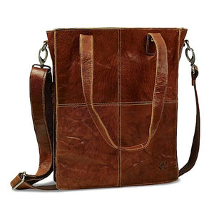 Shoulder Bag | Brown | Waxed Buffalo Leather - STOCKHOLM