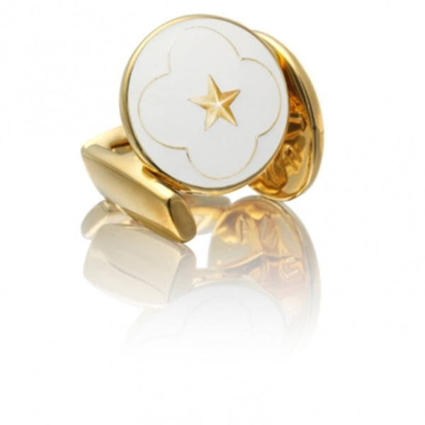 Cufflinks | The Official Wedding Series | Gold - STOCKHOLM