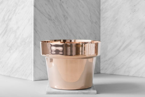 Pot | Polished Copper | Small - STOCKHOLM