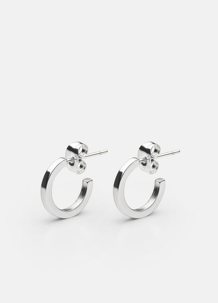 Earrings | SB | Polished Steel - STOCKHOLM