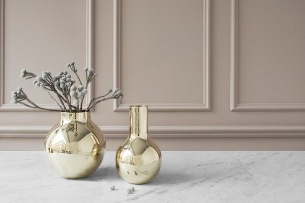 Vase | Boule | Polished Brass | Large - STOCKHOLM