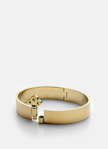 Bangle | Key Lock | Gold - STOCKHOLM