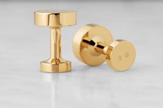 Cufflinks | Icon | Model 1 | Gold Plated - STOCKHOLM