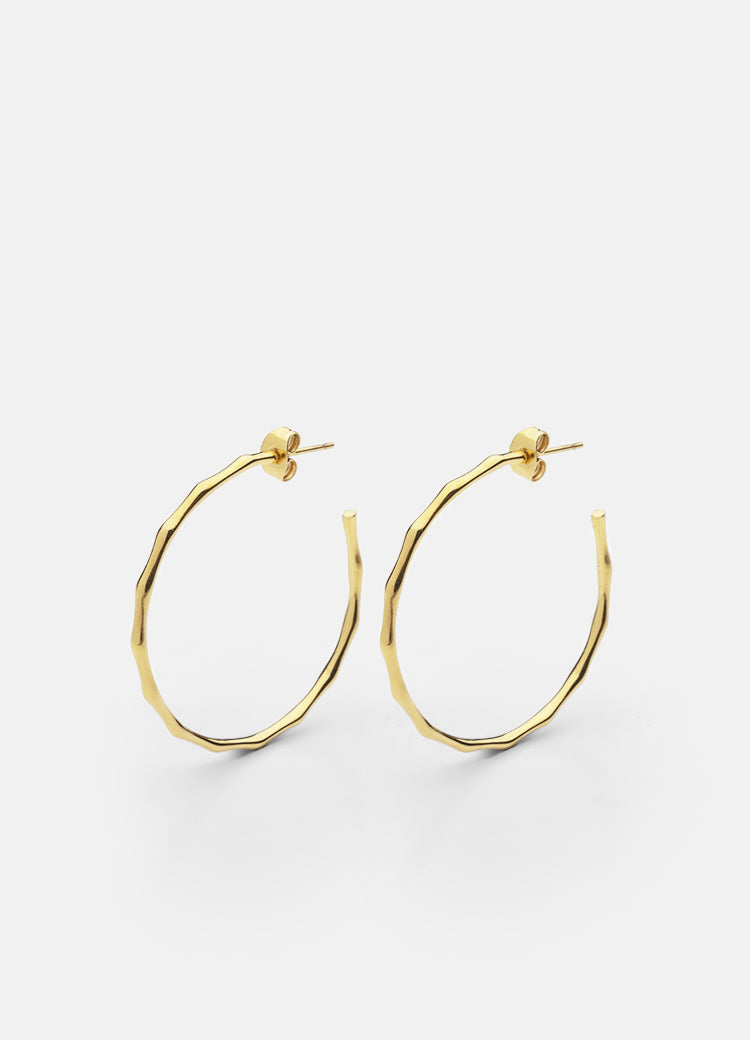 Earrings | Bambou | Gold Plated - STOCKHOLM