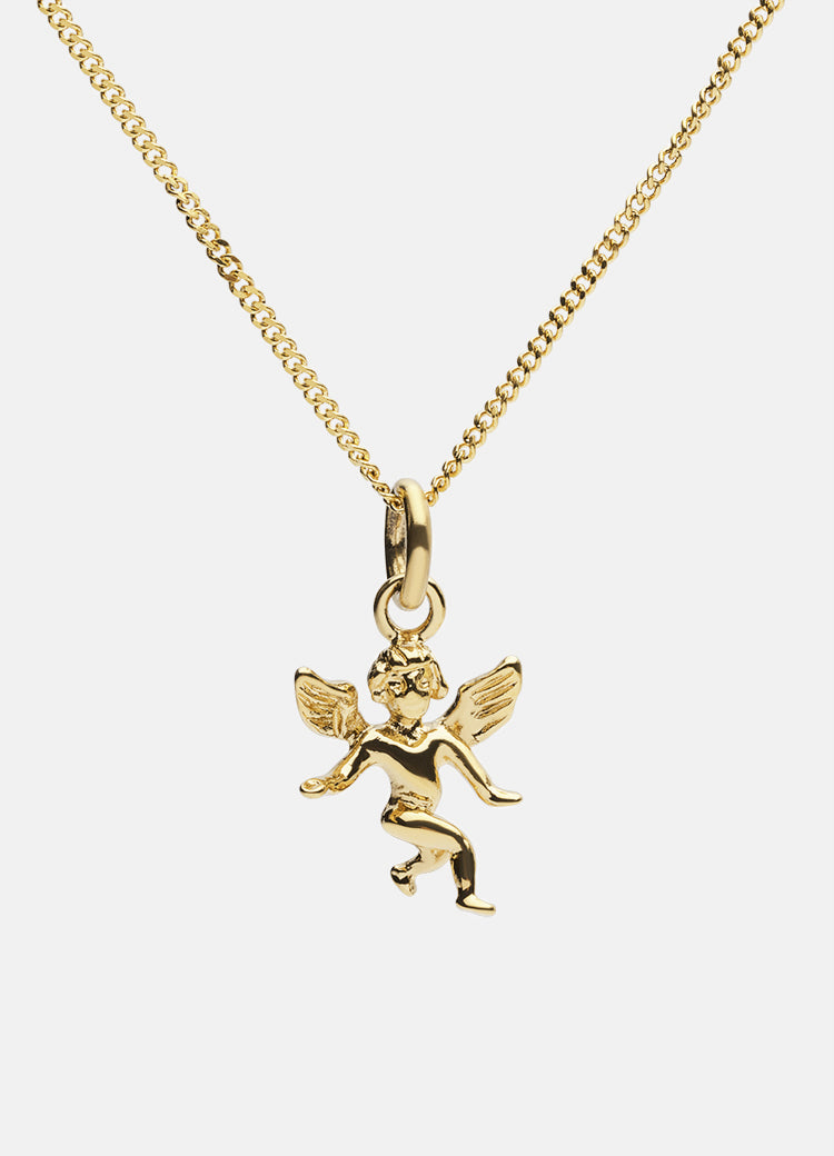 Necklace | The Angel | Gold Plated - STOCKHOLM