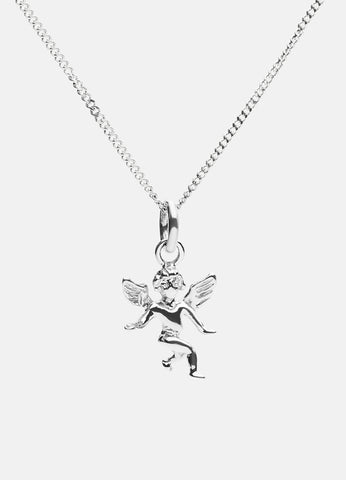 Necklace | The Angel | Polished Steel - STOCKHOLM