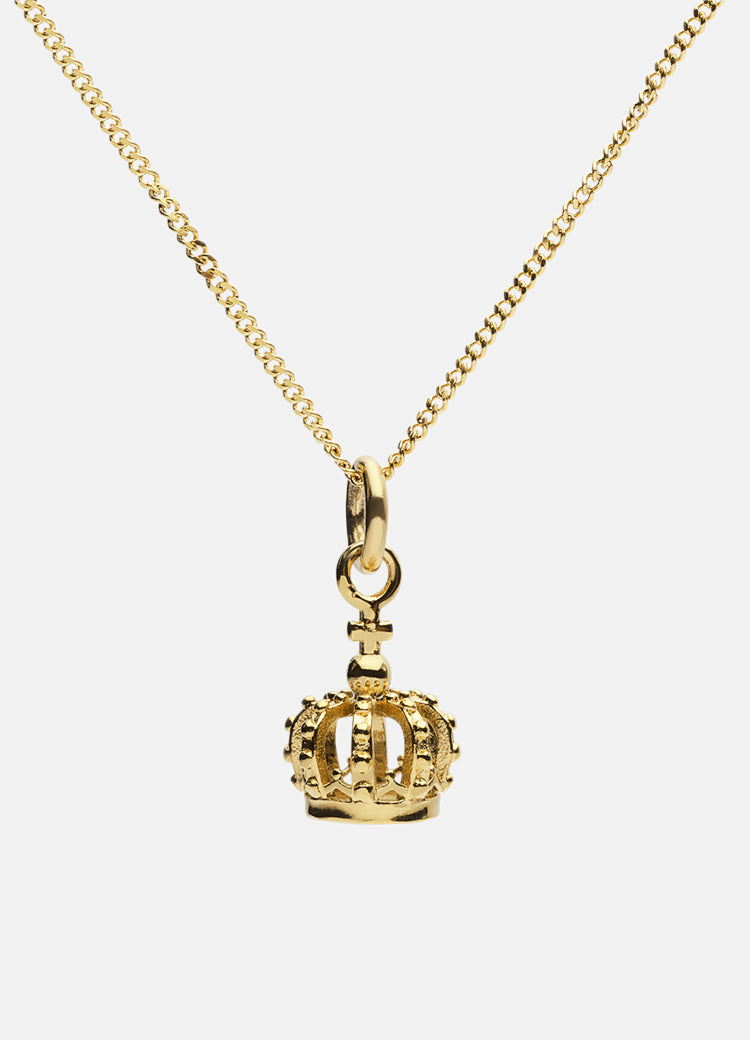 Necklace | The Crown | Gold Plated - STOCKHOLM