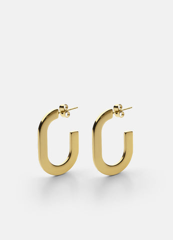 Earrings | Glam | Gold Plated - STOCKHOLM