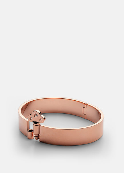 Bangle | Key Lock | Rose Gold - STOCKHOLM