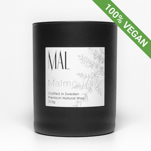 Malmö | Scented Candle | Cypress Fig | Vegan - STOCKHOLM