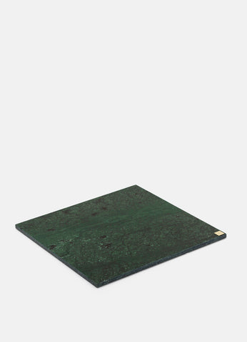 Marble plate | 30x30cm | Green - STOCKHOLM