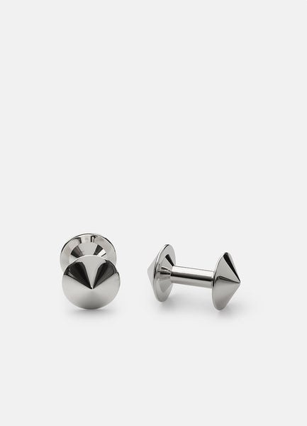 Cufflinks | Icon | Model X | Stainless Steel - STOCKHOLM