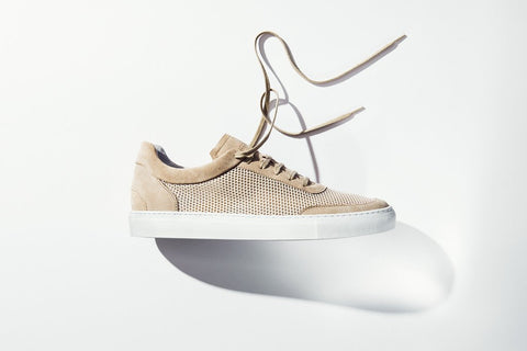 Sneakers | Breathable | Mesh | Sand - STOCKHOLM