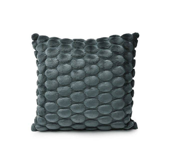 Egg Collection | Petrol Cushion Cover | Velvet