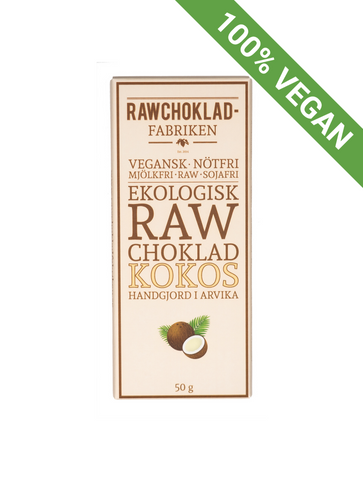 Raw chocolate | Coconut - STOCKHOLM