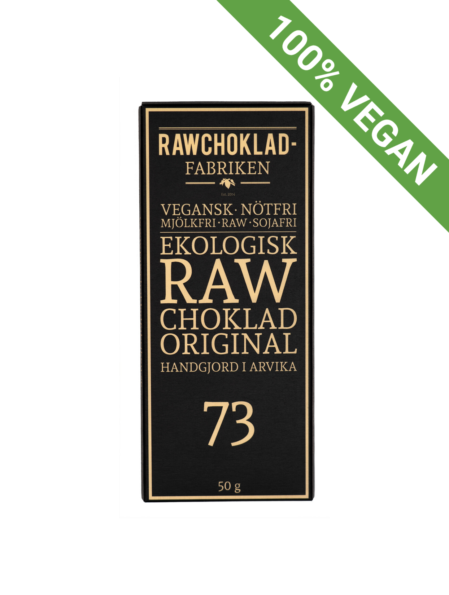 Raw chocolate | Original 73 - STOCKHOLM