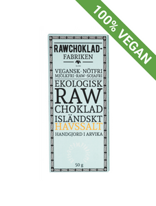 Raw chocolate | Iceland Sea salt - STOCKHOLM