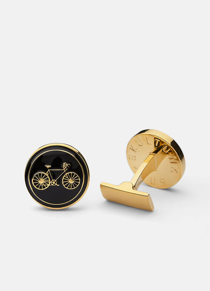 Cufflinks | Themocracy Biker | Nero - STOCKHOLM