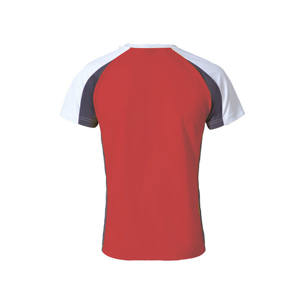 top quality sport mens tshirt,red ,XL