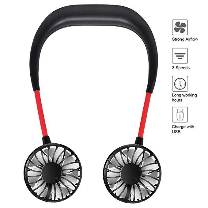 Hands Free USB Portable Fan