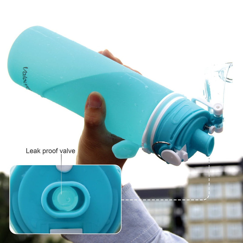 Collapsible Water Bottle with Leak Proof