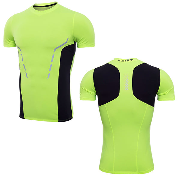 Compression Cool Dry Sport T-Shirt Men Top,3XL