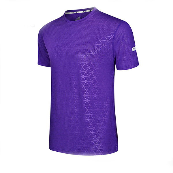 dry fit jersey soccer football shirt sport t-shirt,purple,3XL