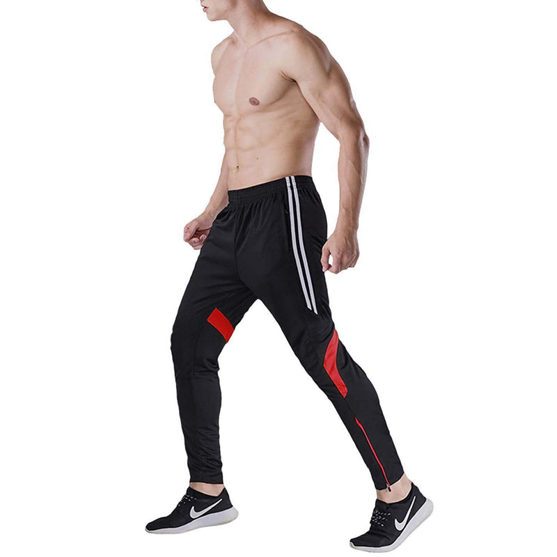 Geek Lighting Mens Active Soccer Training Pants Casual Gym Jogger Sweatpants 11
