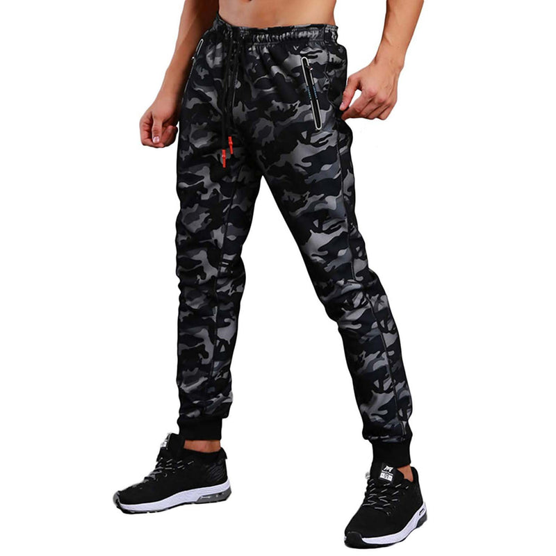 Geek Lighting Mens Active Soccer Training Pants Casual Gym Jogger Sweatpants 4