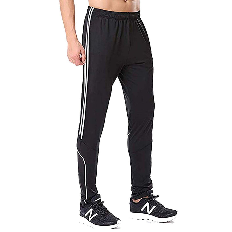 Geek Lighting Mens Active Soccer Training Pants Casual Gym Jogger Sweatpants 5